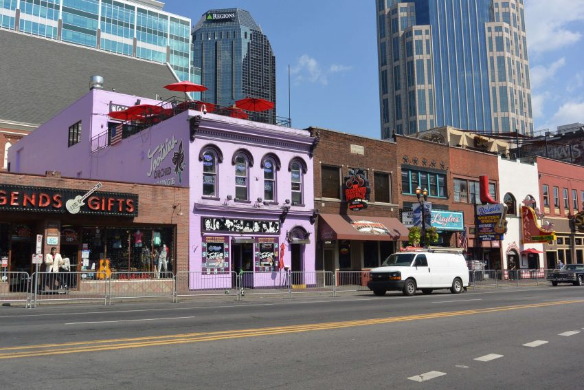 Music street Nashville