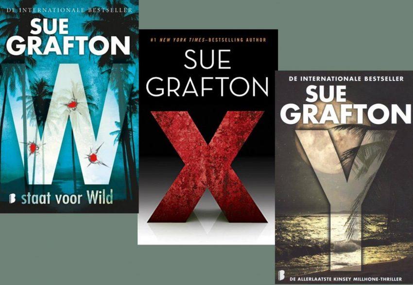 Delen W, X, Y Kinsey Millhone van Sue Grafton