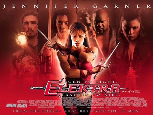 Film Elektra uit 2005 met Jennifer Garner