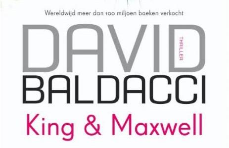 King & Maxwell boek van David Baldacci