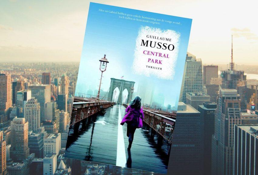 Boek Central Park van Guillaume Musso