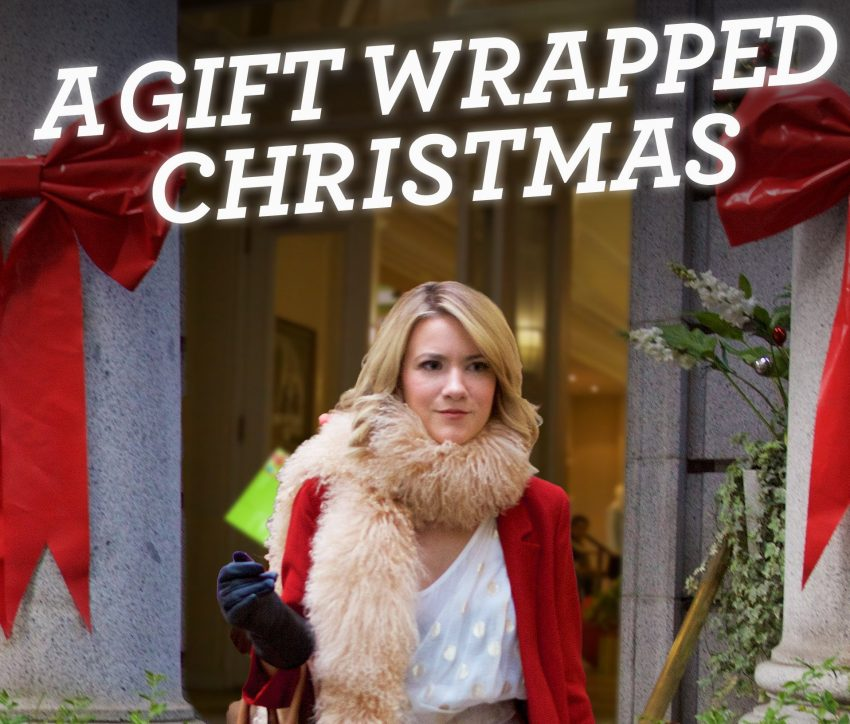 kerstfilm A gift wrapped christmas