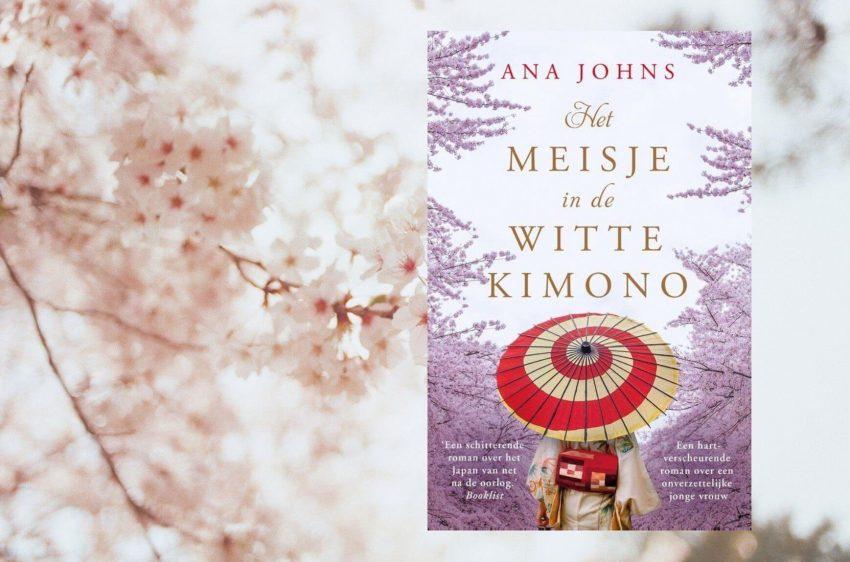 Het meisje in de witte kimono van Ana Johns
