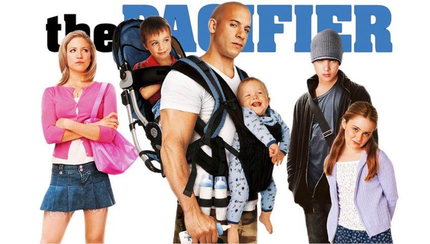 film The Pacifier met Vin Diesel